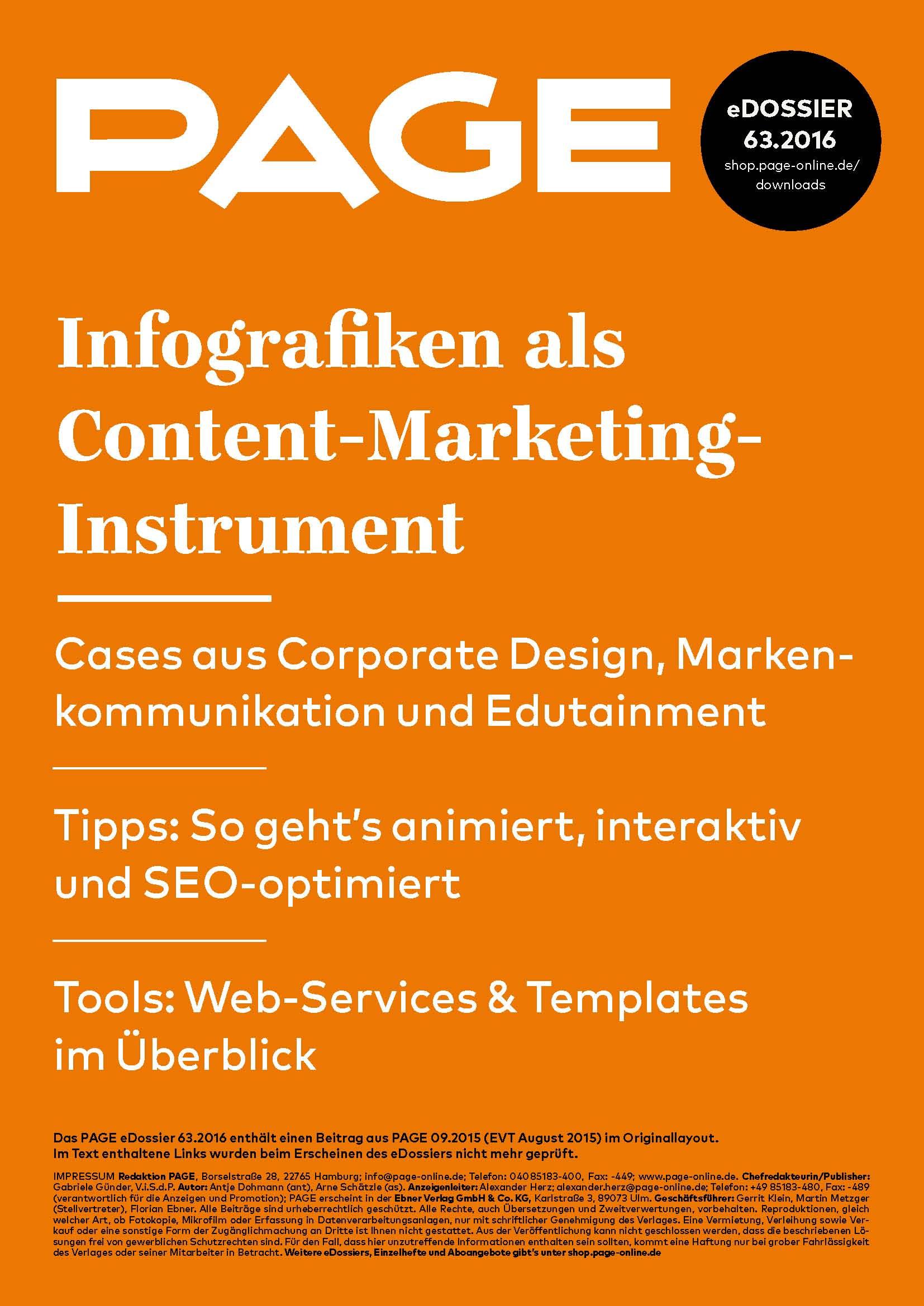 Produkt: eDossier: »Infografiken als Content-Marketing-Instrument«