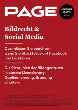 Produkt: eDossier: »Bildrecht und Social Media«