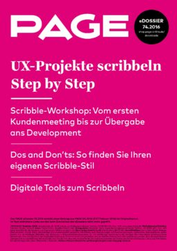 Produkt: PDF-Download: eDossier: »UX-Projekte scribbeln Step by Step«