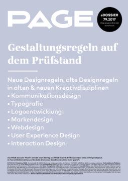 Produkt: eDossier »Gestaltungsregeln auf dem Prüfstand«