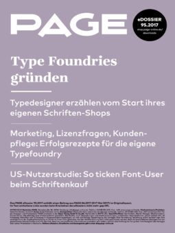 Produkt: PDF-Download: eDossier »Type Foundries gründen«