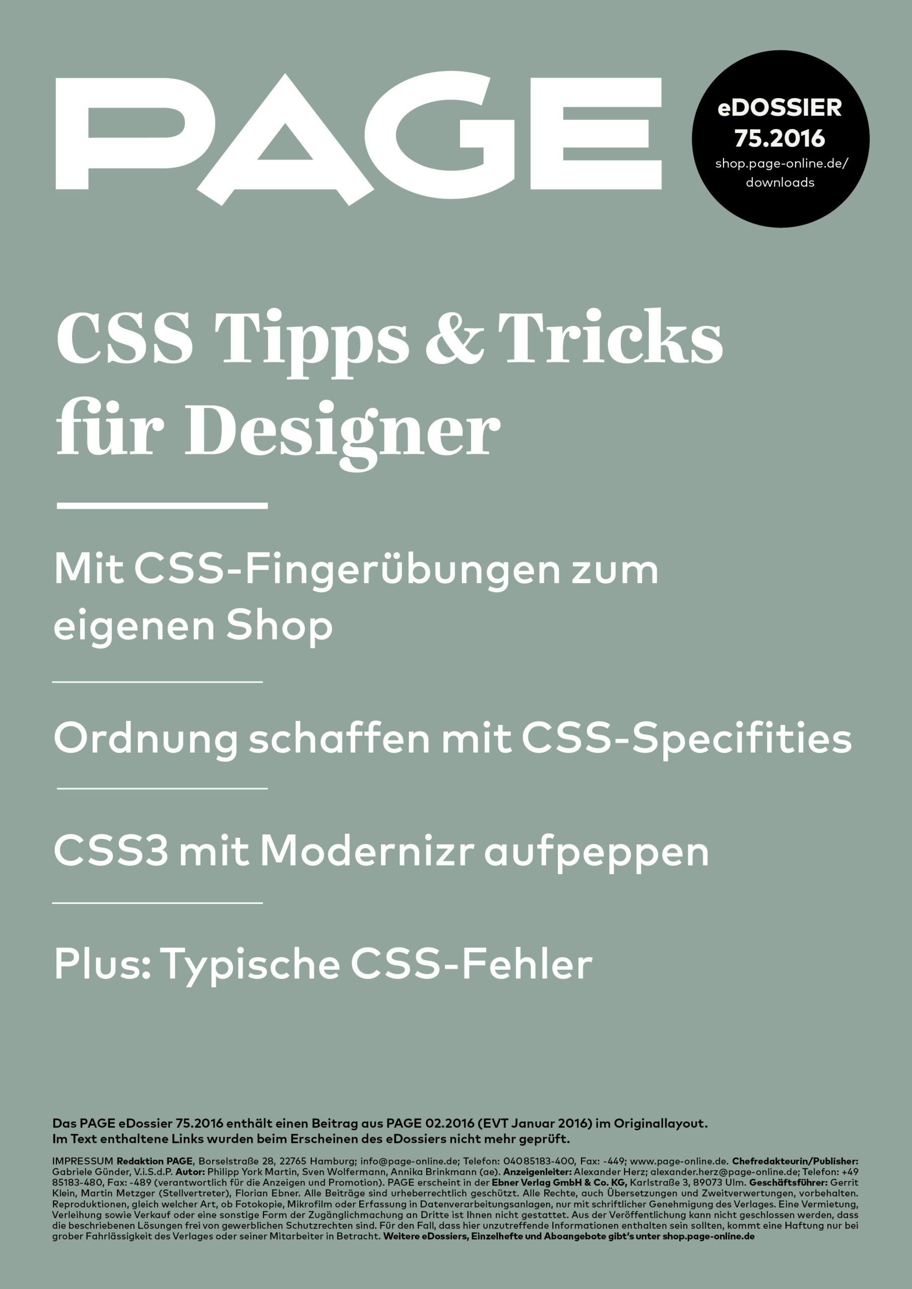 Thesis custom page css