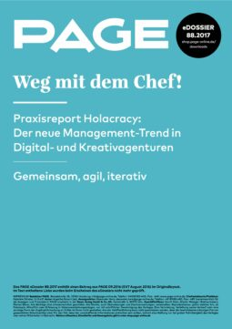 Produkt: PDF-Download: eDossier »Weg mit dem Chef! Praxisreport Holacracy«