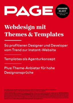 Produkt: PDF-Download: eDossier »Webdesign mit Themes & Templates«