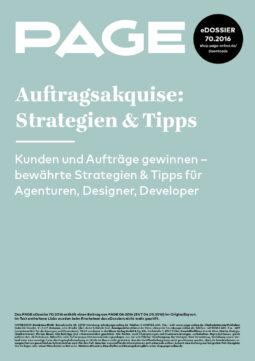 Produkt: eDossier: »Auftragsakquise: Strategien & Tipps«