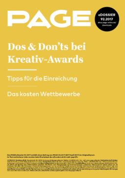 Produkt: eDossier: »Dos & Don'ts bei Kreativ-Awards«