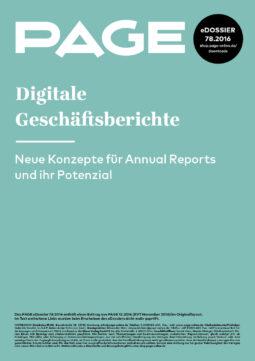 Produkt: eDossier: »Digitale Geschäftsberichte«
