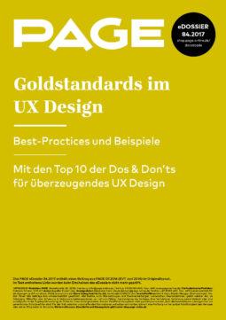 Produkt: eDossier »Goldstandards im UX Design«