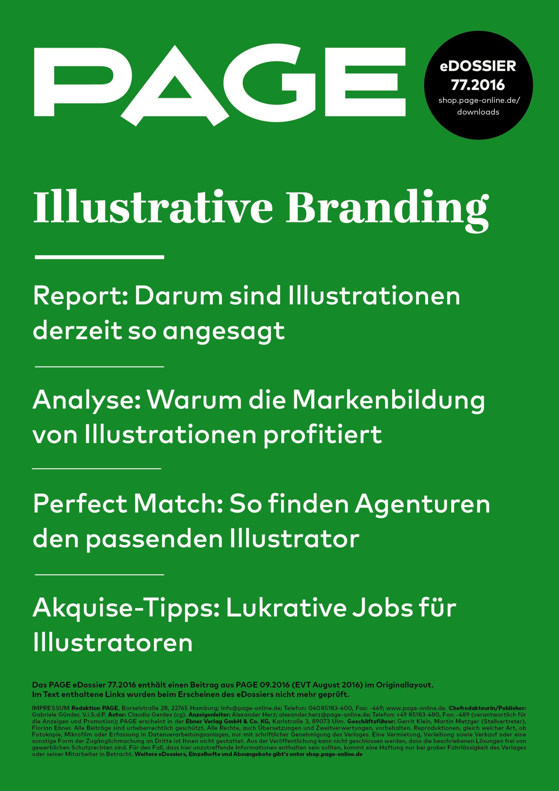Produkt: eDossier »Illustrative Branding«