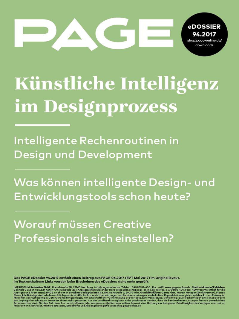Produkt: eDossier: »Künstliche Intelligenz im Designprozess«