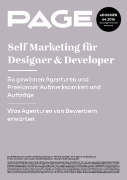 Produkt: eDossier: »Self Marketing für Designer & Developer«