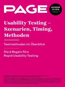 Produkt: eDossier »Usability Testing – Szenarien, Timing, Methoden«