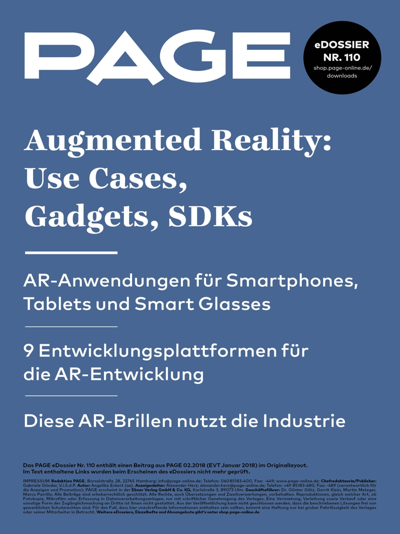 Produkt: eDossier »Augmented Reality: Use Cases, Gadgets, SDKs«