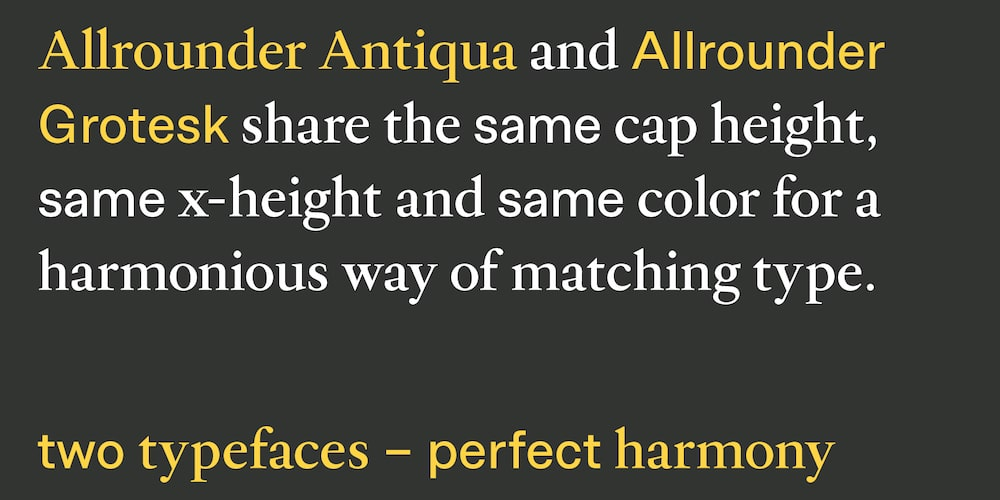 Allrounder-AntiquaGrotesk