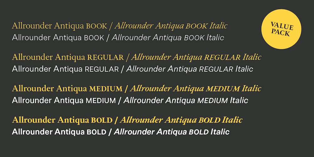 Allrounder-AntiquaSchnitte