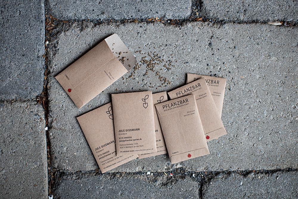 Corporate Design PFLANZBAR von Jule Dissmann