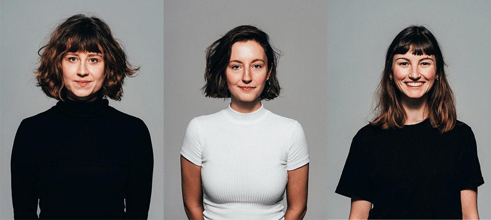 Carmen Sölch, Sarah Klostermeier und Nicole Pietruschka