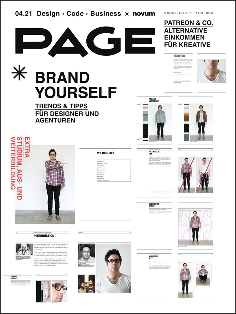 Produkt: PAGE – Jahresabo für AGD-Mitglieder