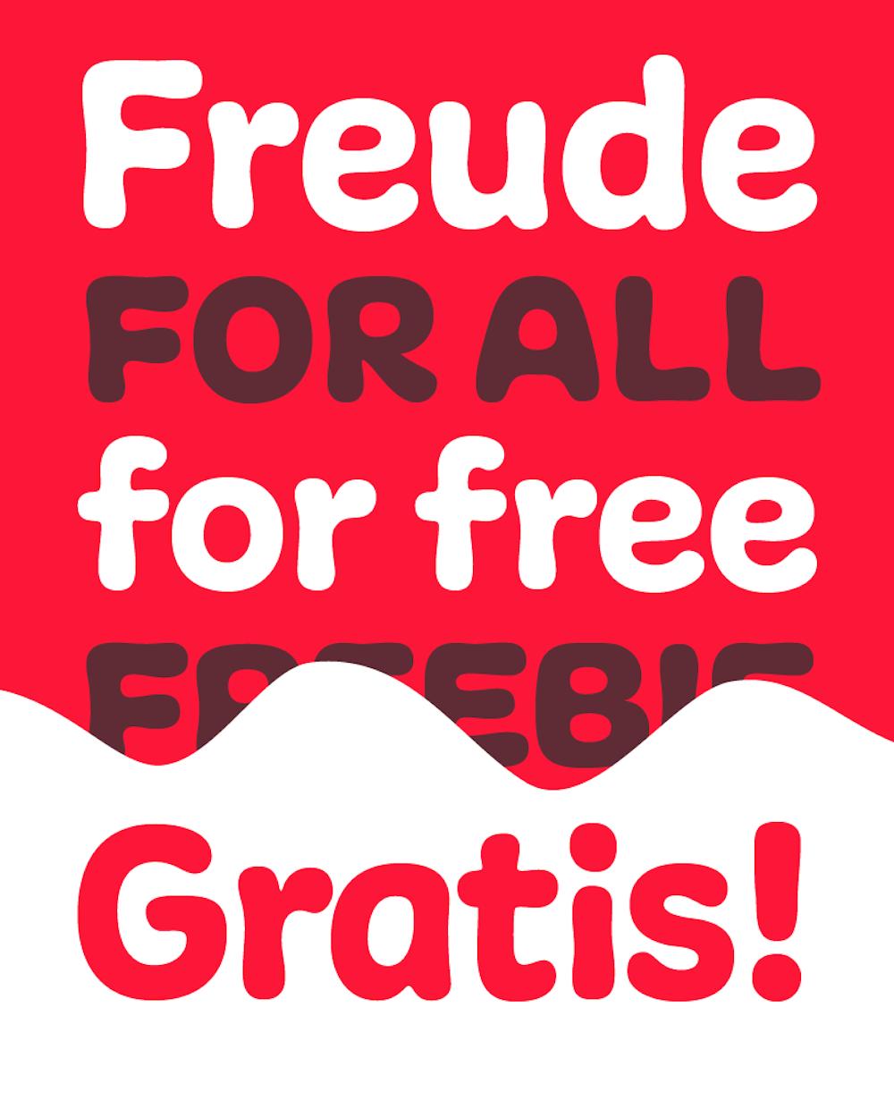 Freude for free, Typejockeys