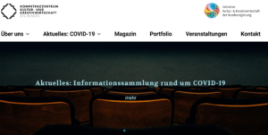 Website des Kreativbunds