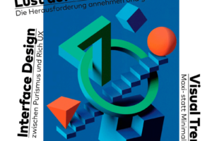 Cover PAGE 06.2020, Lust auf Komplex: Interface Design, Visual Trends, EXTRA Agentursoftware