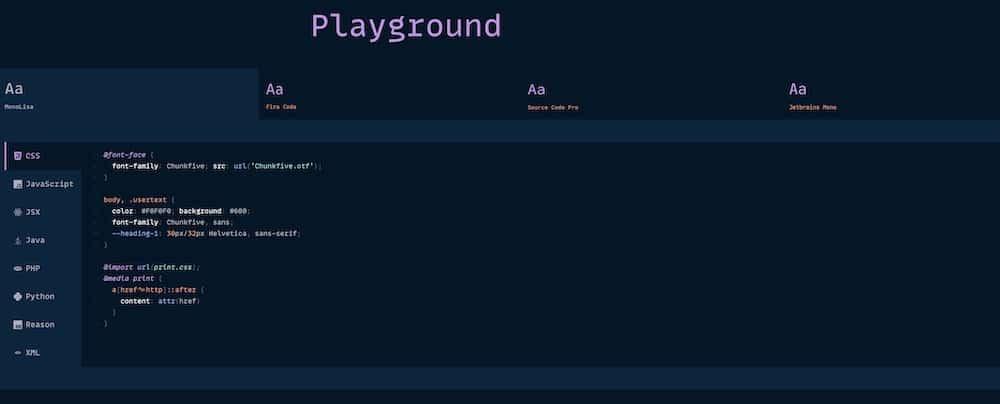 MonoLisaPlayground