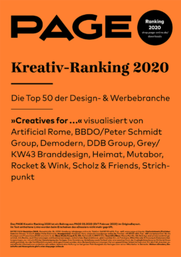 Produkt: Download PAGE Kreativ-Ranking 2020