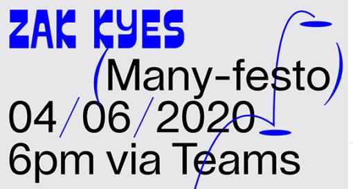 Zak Kyes Many-festo