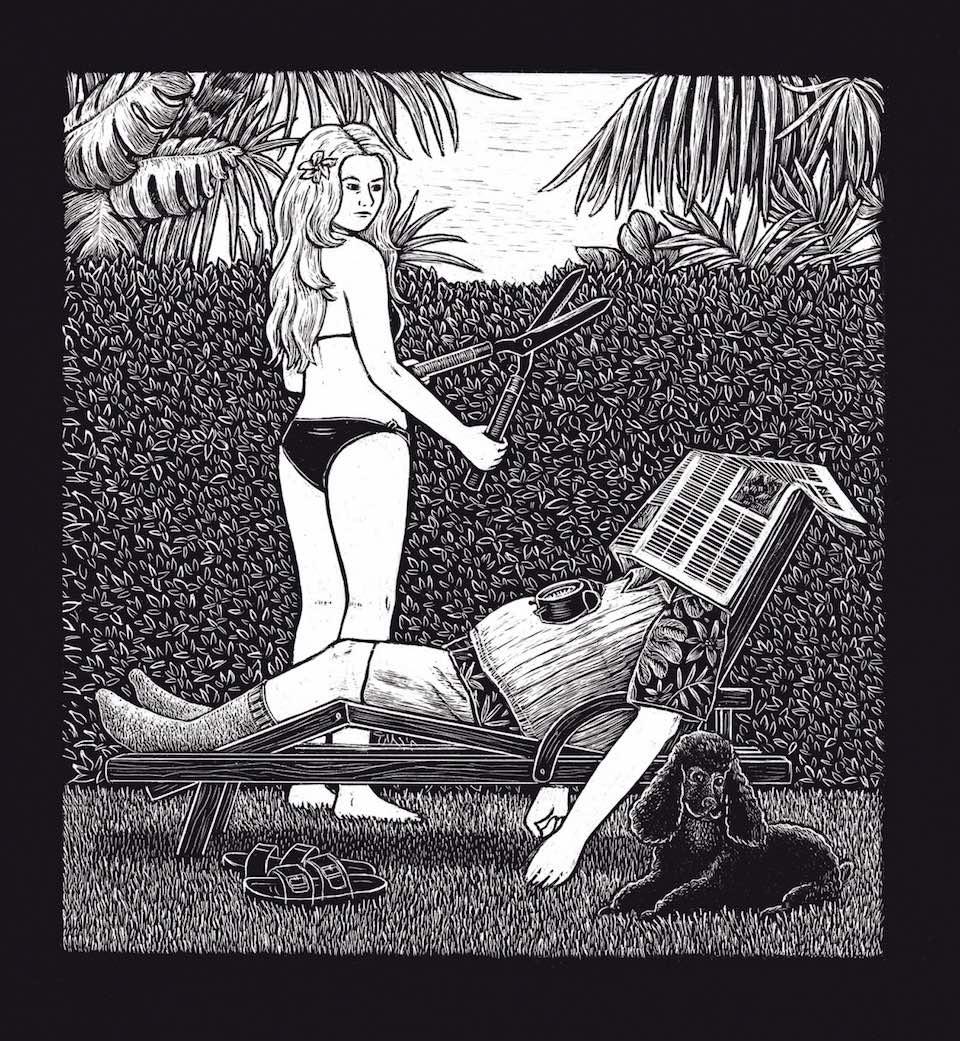 Illustriertes Buch für Paare