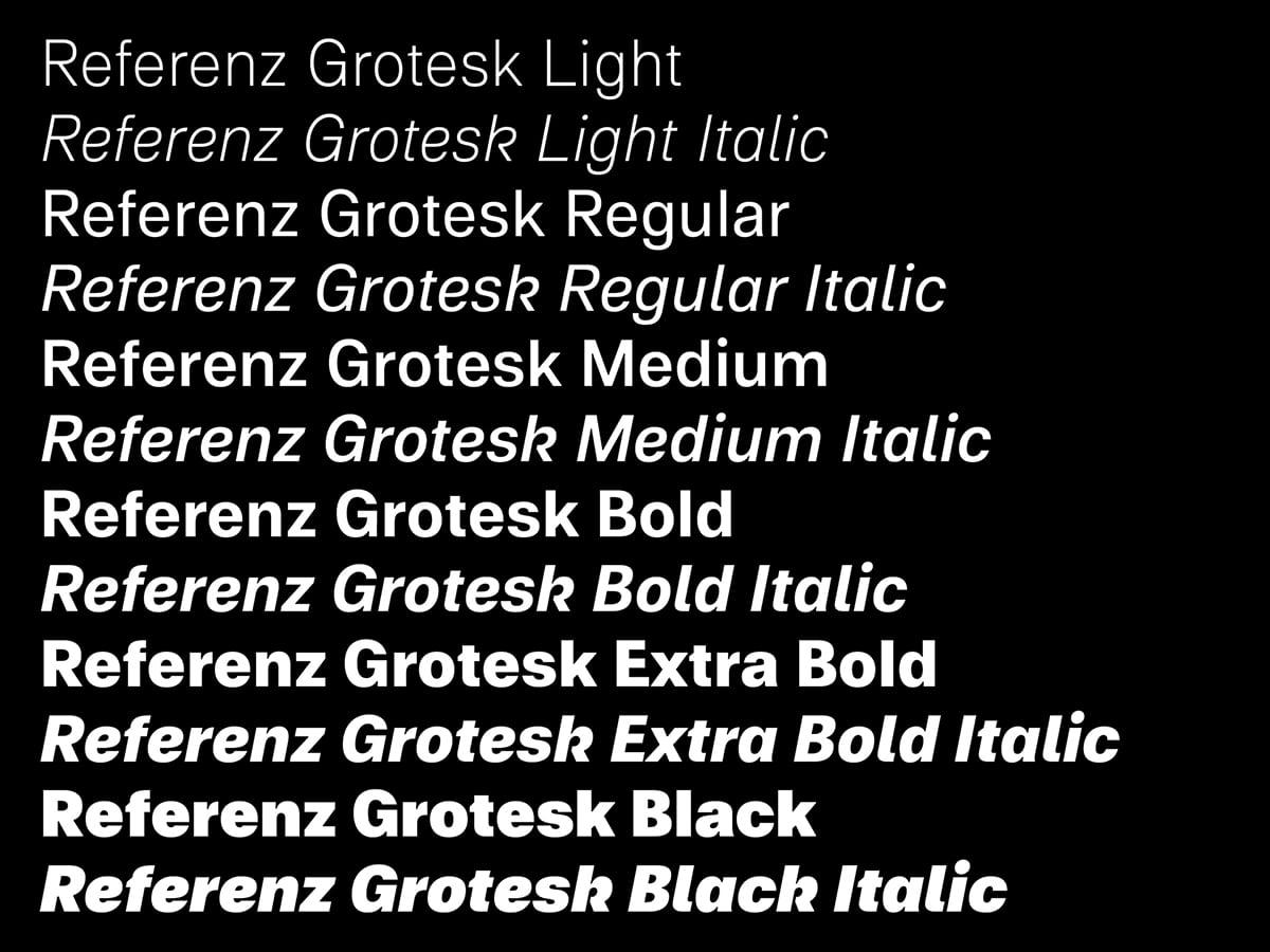 referenz_grotesk_Schnitte