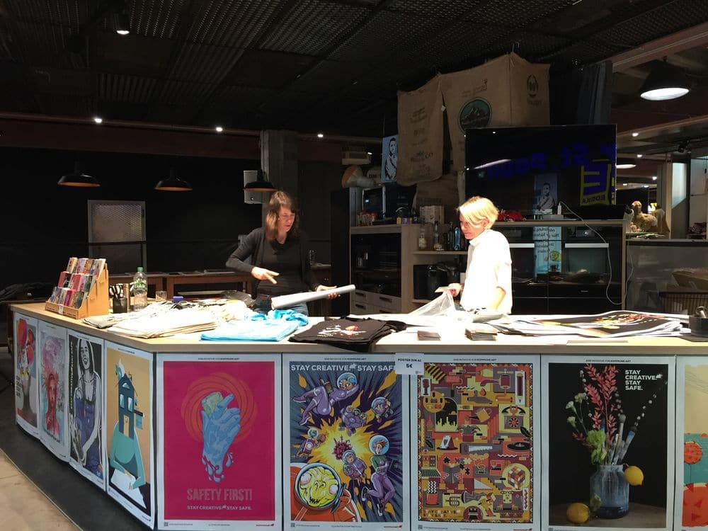 stay creative stay safe rindermarkthalel hamburg