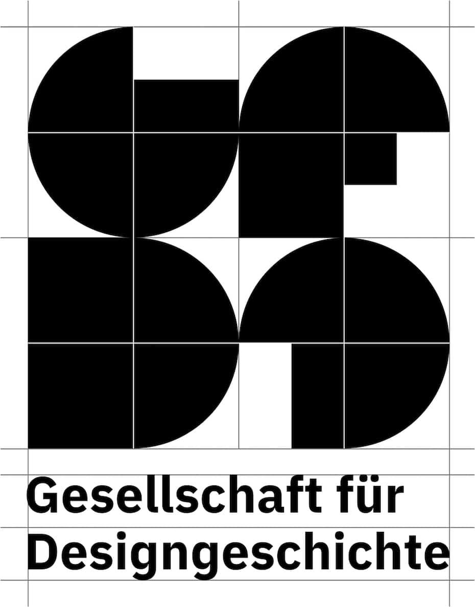 Gesellschaft für Design Geschichte Logoentwurf