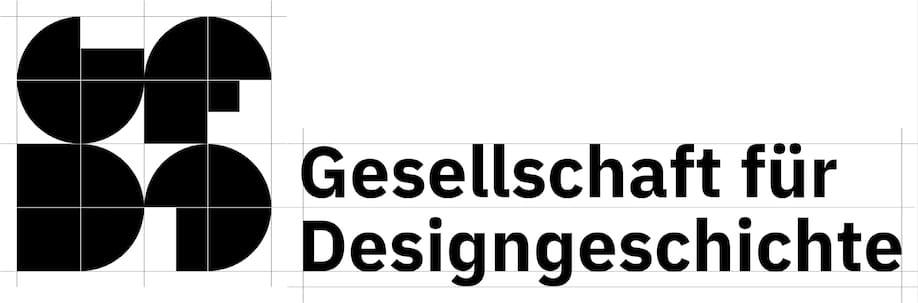 Gesellschaft für Designgeschichte Logoentwurf