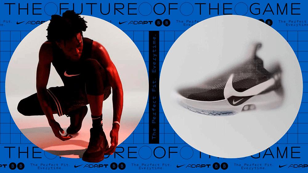 Collagen für Nike Adapt von Studio Laurens Bauer & David Benski