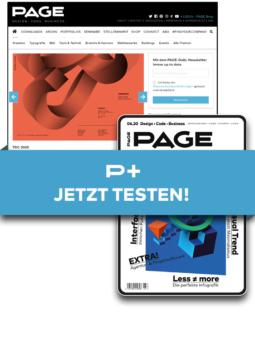 Produkt: PAGE+ Digital - 3 Monate für 3 Euro