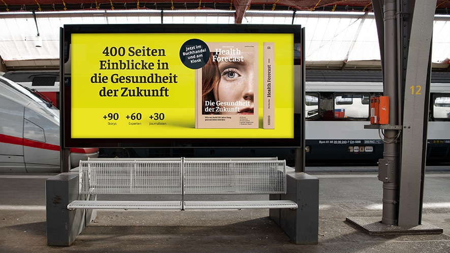 Corporate Publishing Trendbericht Werbekampagne