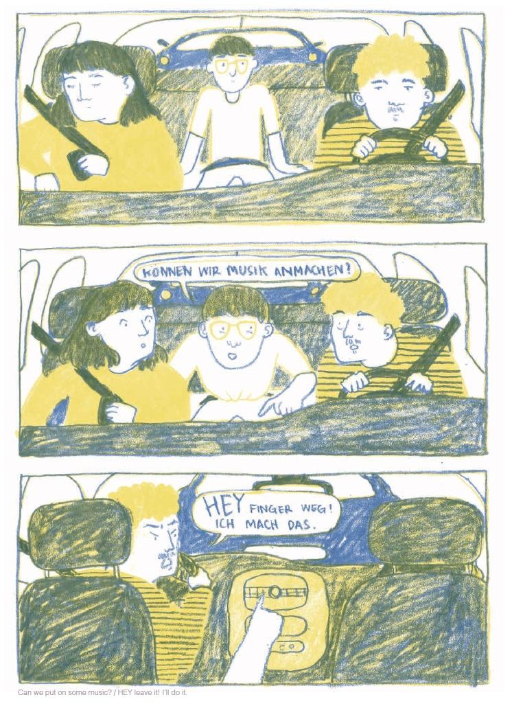 Junge Comic-Zeichner Kunsthochschule
