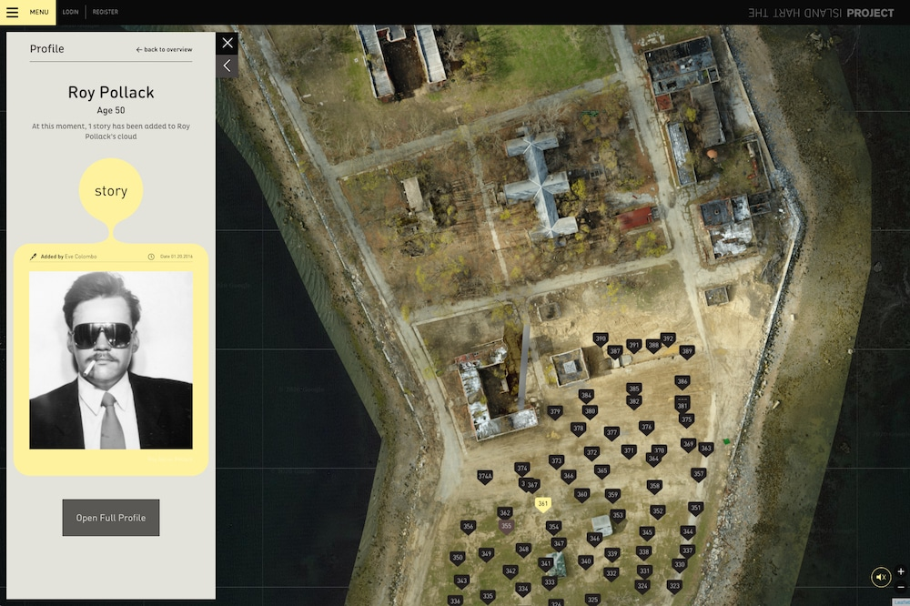 Hart Island Webprojekt