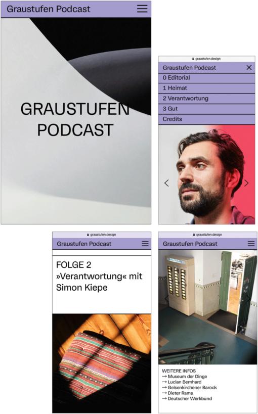 Podcast Graustufen