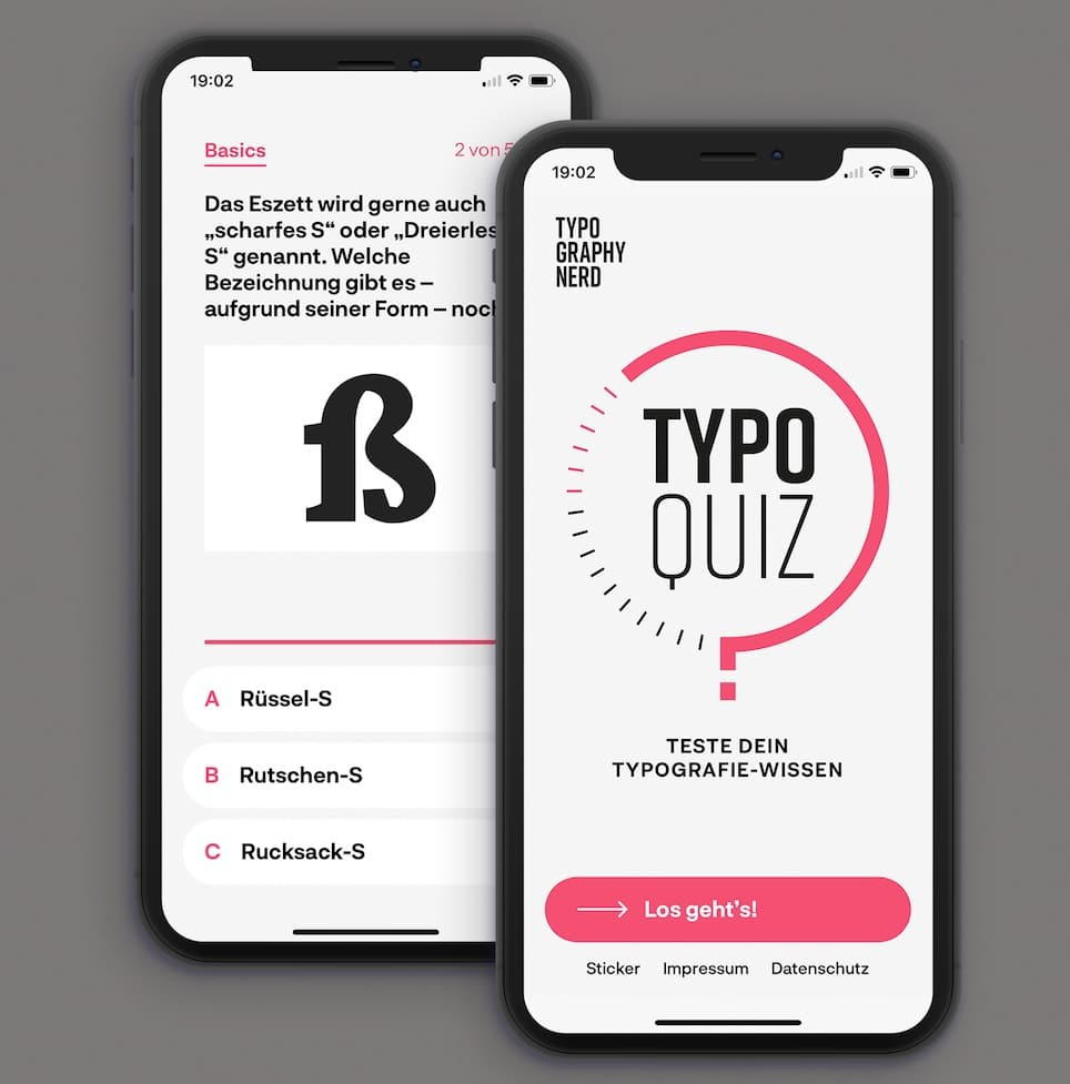 TypographyNerdQuiz