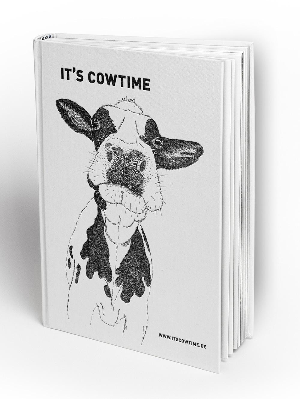 Vegan Drucken, It's Cowtime Kalender