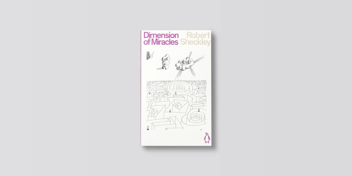 Penguin Science Fiction Classics Cover Diemension of Miracles