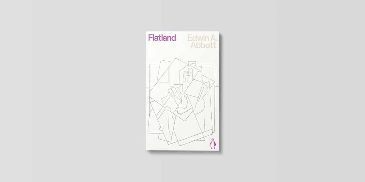 Penguin Science Fiction Classics Cover Flatland