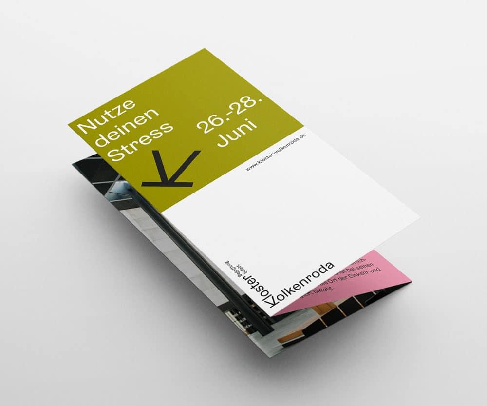 Broschüre für das Kloster Volkenroda von Girlpunk™