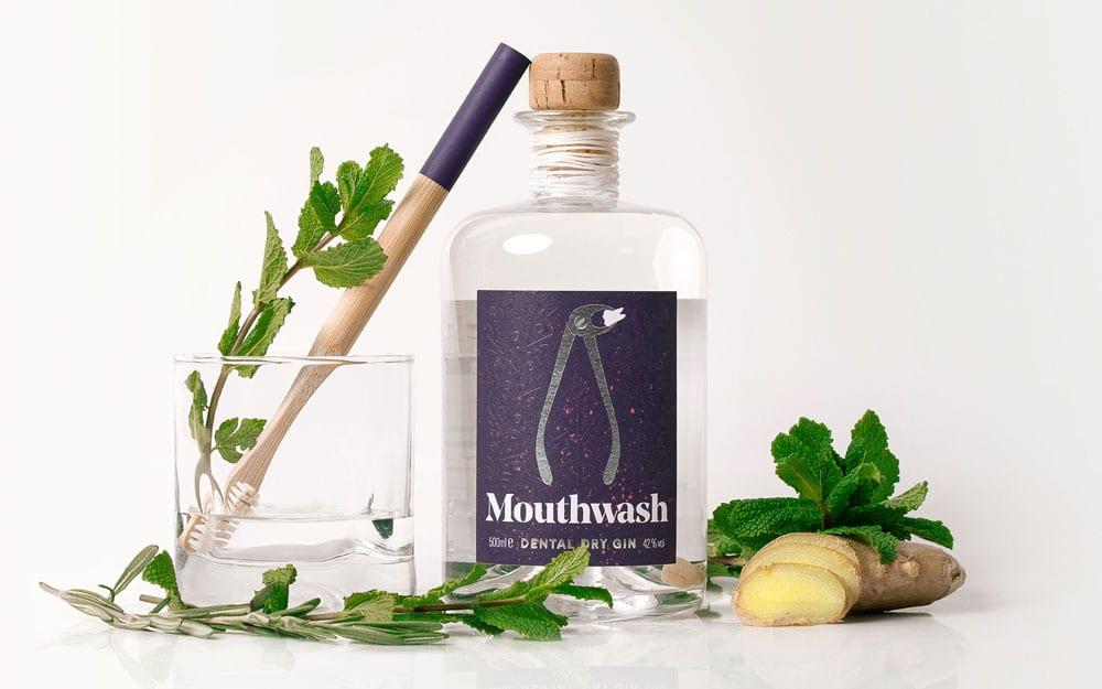Packaging für Mouthwash Dry Gin von Girlpunk™