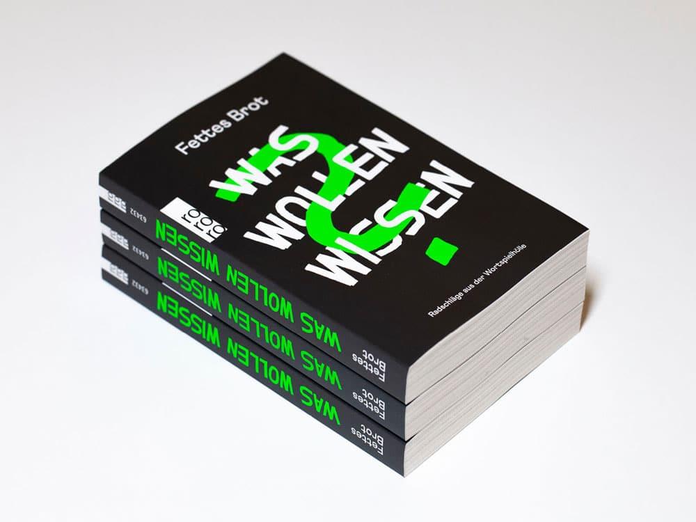 Buchdesign für Was Wollen Wissen von Girlpunk™