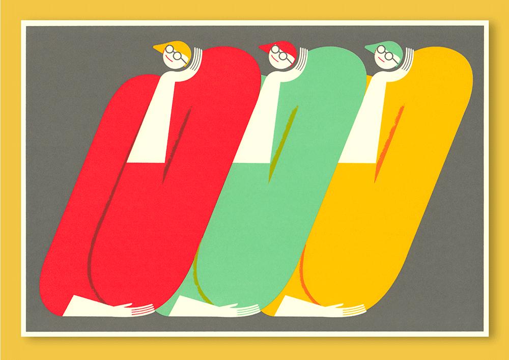 Illustration von Anne Albert zum Thema Overthinking