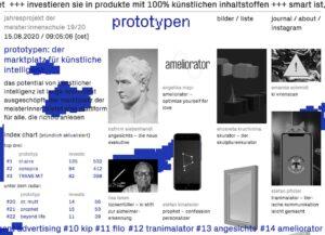 Website Abschlussarbeiten Design Online Graphische Wien