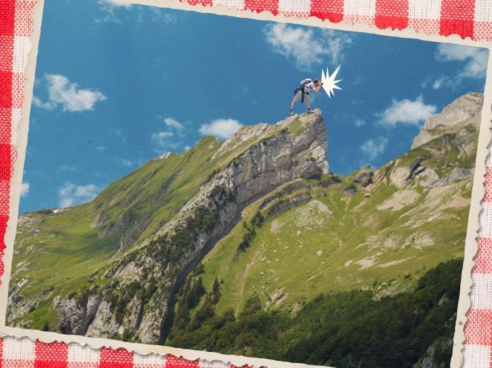 Animierte Postkarte Schweizer Animationsstudio Team Tumult