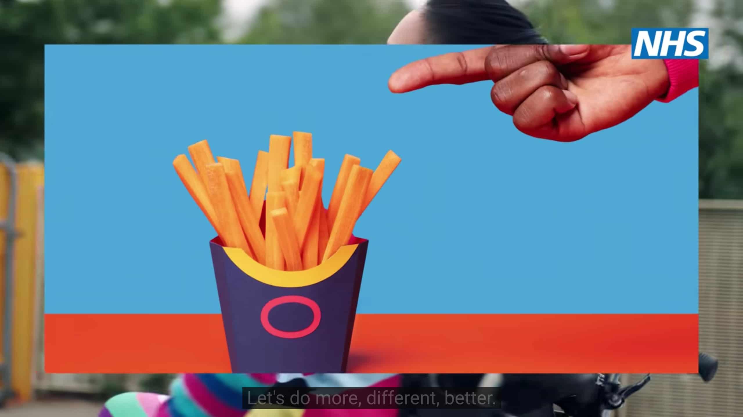 Werbeverbot fuer Junkfood